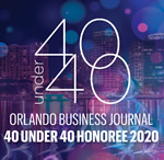 Orlando Immigration Attorney Nayef Mubarak has Been Honored with the 40 Under 40 award in 2020 by the Orlando Business Journal