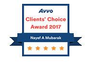 Orlando Immigration Lawyer Nayef Mubarak AVVO's Client Choice 2017