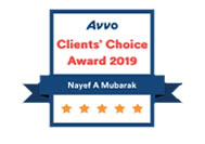 Orlando Immigration Lawyer Nayef Mubarak AVVO's Client Choice 2019