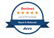Nayef Mubarak's Reviews in AVVO