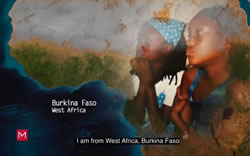 Girls from Burkina Faso helped by Immigration attorney Nayef Mubarak with their immigration status - Video