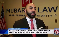 Central Floridians Held at Airport After Travel Ban: Executive order causes confusion - Video