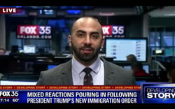Mixed Reactions Pouring In Following President Trump's New Immigration Order - Video