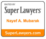 Orlando Immigration Attorney Nayef Mubarak Received the Super Lawyers Award